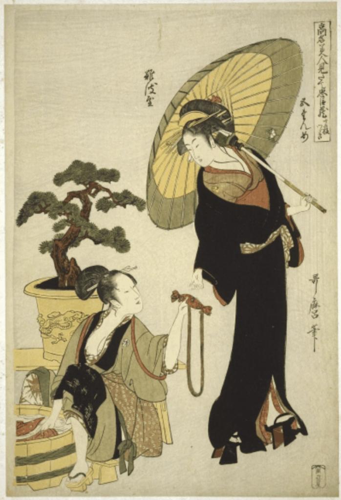 Estampe de Kitawage Utamaro (1753-1806)