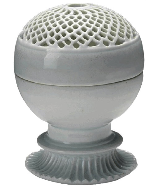 Porcelaine à couverte blanche opaque, provenant des fours de Jingdezhen en Chine