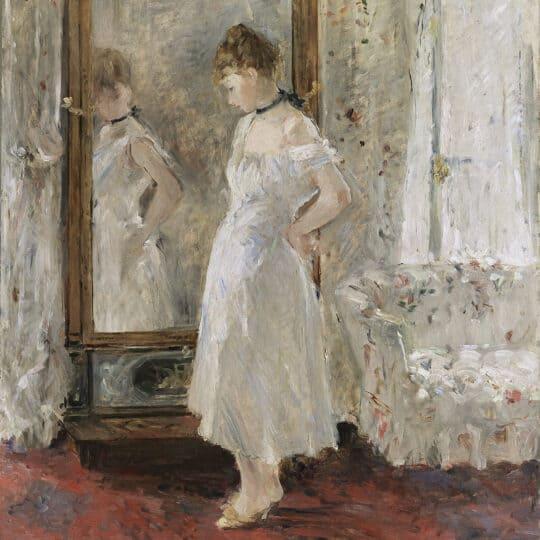 berthe morisot Psyché (miroir france)