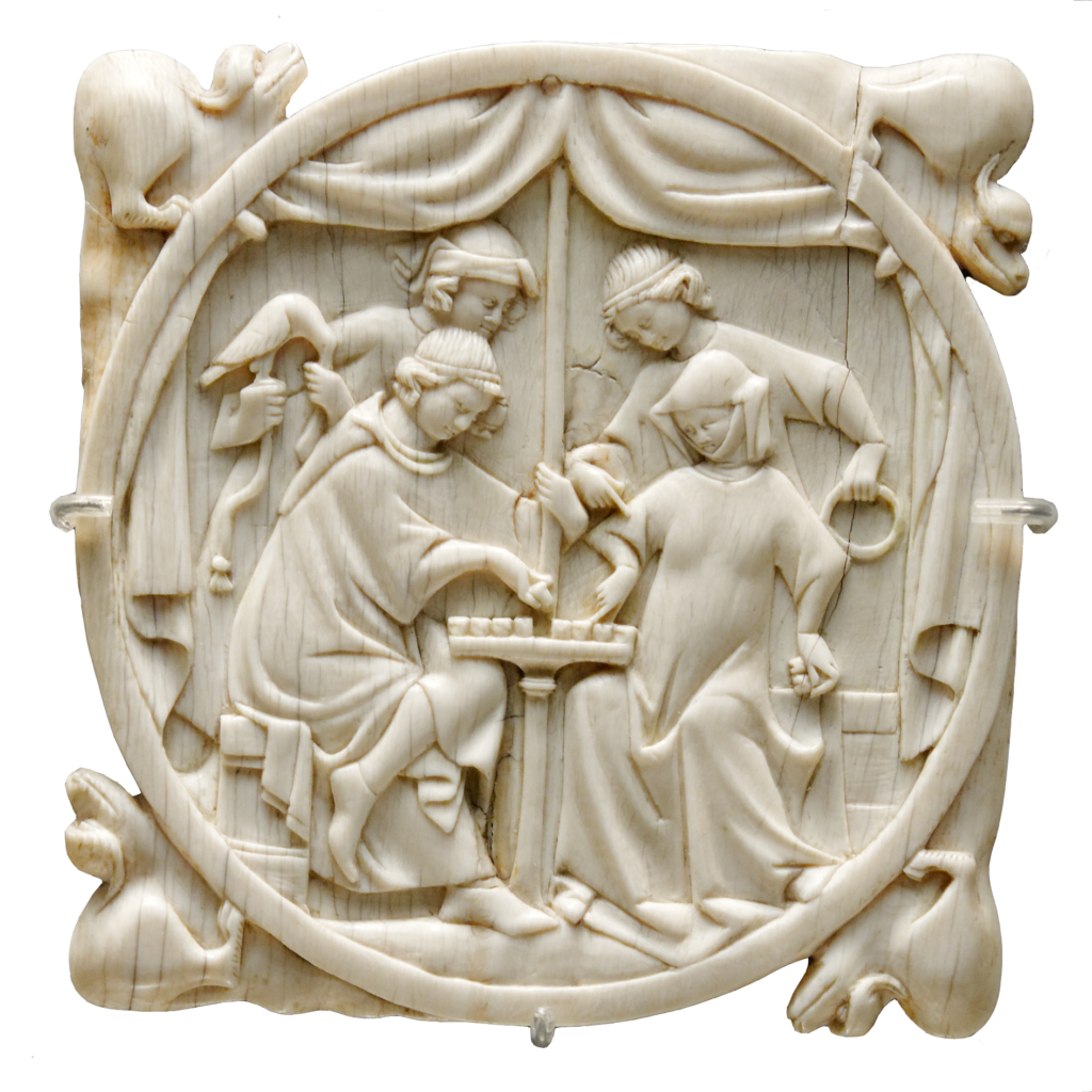 miroir ivoire France  © Marie-Lan Nguyen / Wikimedia Commons