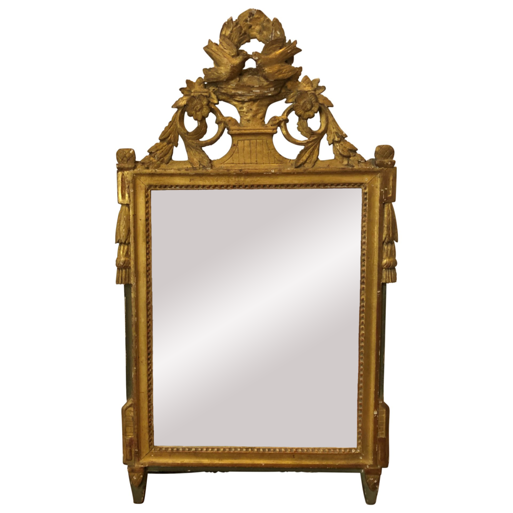 miroir de mariage Louis XVI France vendu