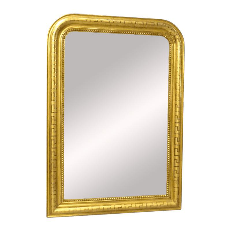 Miroir en bois doré, époque Louis Philippe (1830-1848), France, Europe, en vente sur Antikeo.