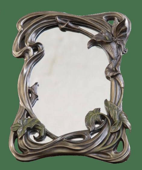 Miroir, France, style Art Nouveau, début XXème siècle.