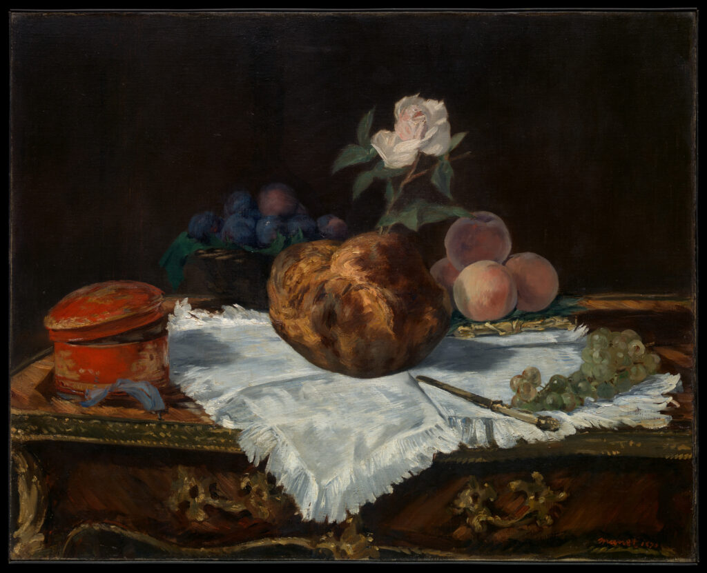 Nature morte de Manet. Impressionnisme. XIXe siècle.