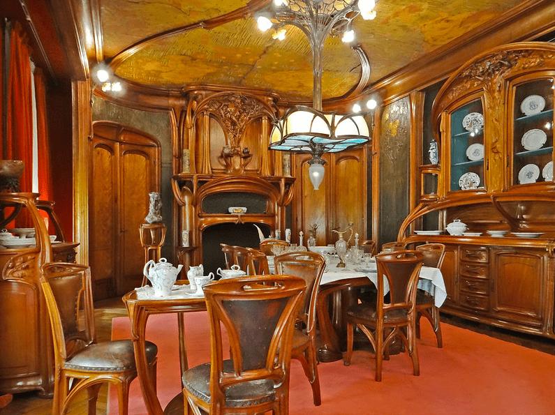 Salle à manger Art nouveau. Musée de l'Ecole de Nancy