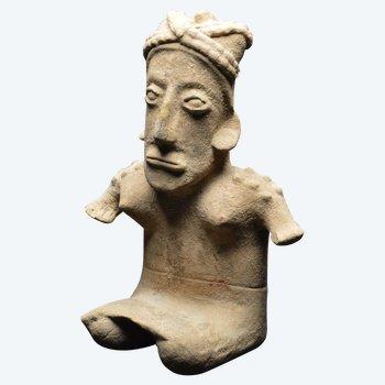 Mexiko / Jalisco-Kultur / 300 v. Chr. - 300 n. Chr. / Wichtige anthropomorphe Statuette