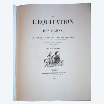 De l'équitation et des haras par le comte  Savary de Lancosmes- Breves 1843