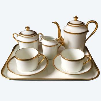 Service à Café Porcelaine Dit Tête à Tête