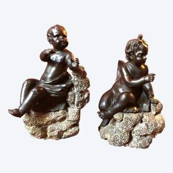 Zwei Engel, 19. Jahrhundert