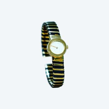 Bulgaria Style Watch 18kt Gold & Steel