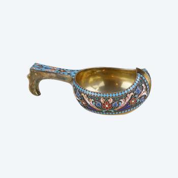 Russian silver kovch