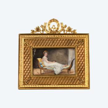 """Miniature """"Madame Récamier"""""""