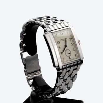 Herrenuhr PATEK PHILIPPE Gondolo Ref 5024 - Weißgold am Armband