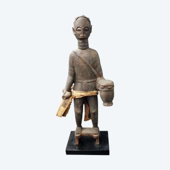 Statue eines Griot, Akan, Ghana