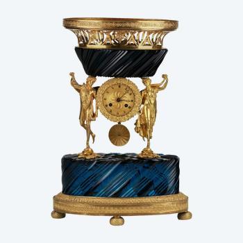 Chimney clock. Royal Russia. 19th century.