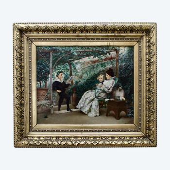"Peinture ""Récital"" K.Stepanov  (1854—1910)"