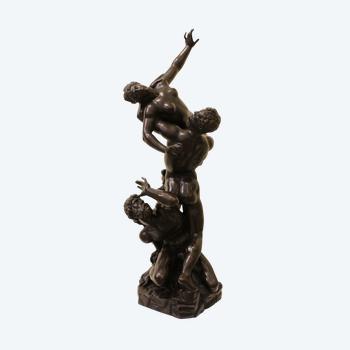 """Skulpturale Gruppe """"Die Entführung der Sabinerinnen"""""""