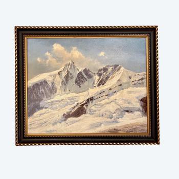Bergmalerei - Konrad Pétridès