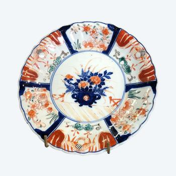 Assiette Imari Japon decor floral