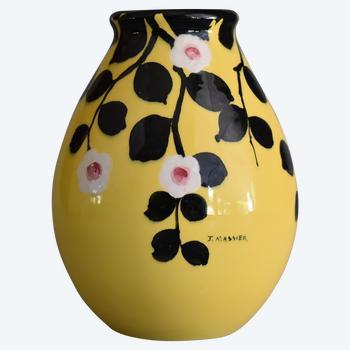 Jérôme Massier (1850/1926) – Vase – Céramique