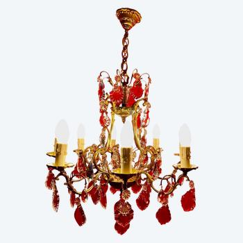 Lustre style Louis XV