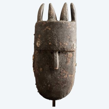 Anthropomorphic mask Culture Toma, Guinea Late 19th century