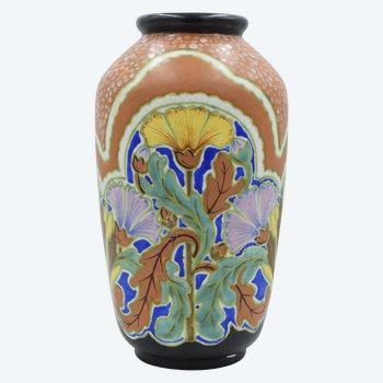 Louis Fontinelle - Grand vase Art Déco