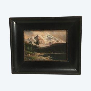 "Lac de montagne -"" Bibsee Mitgspitcz"""