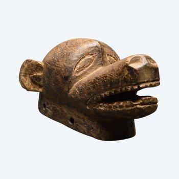 Alte zoomorphe Maske / Burkina Faso - Gurunsi / Erste Hälfte des 20. Jahrhunderts