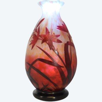 Daum - Baluster Vase