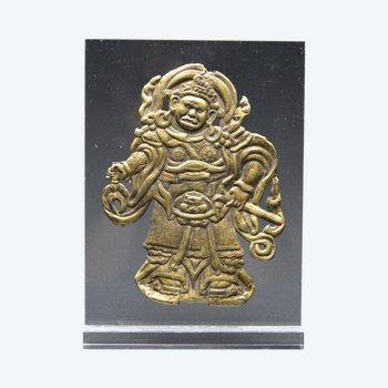 Tibet / Lokapala aus geprägtem Kupfer / 18.-19. Jahrhundert