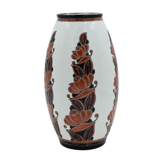 Charles Catteau – Grand vase ovoïde