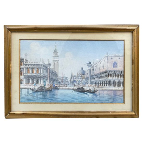 Saint Mark's Square in Venice by Umberto ONGARIA