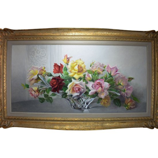 Painting. Roses. Paul Seston