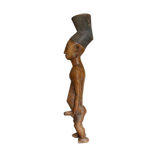STATUETTE ANTHROPOMOPRHEBeli Culture Mangbetu, République démocratique du Congo Première moitié du XXème siècle