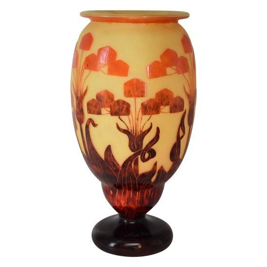 """Le Verre Français - Grand vase """"Yucca"""""""
