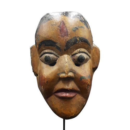 Maske von Subhadra, Maharashtra, Indien
