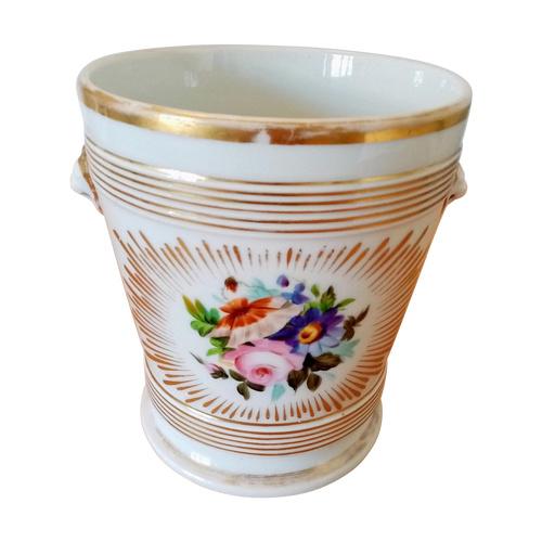 Porcelain seal: Paris XIXth century.