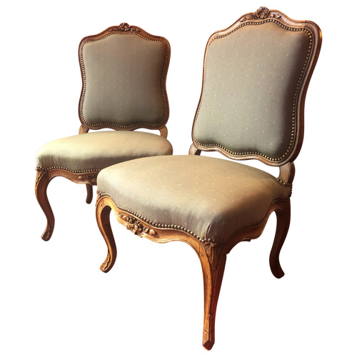 Pair of lounge chairs, Louis XV period