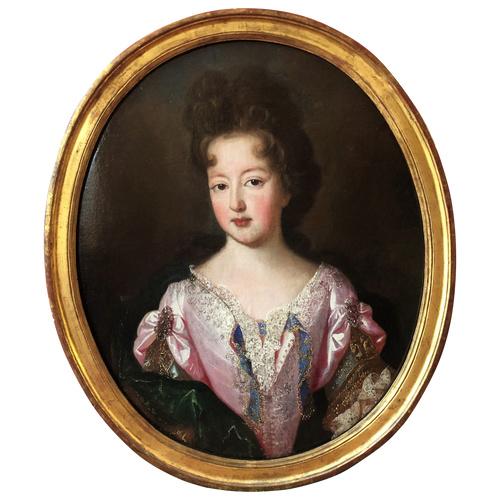 Mademoiselle de Blois, début du XVIIIème siècle