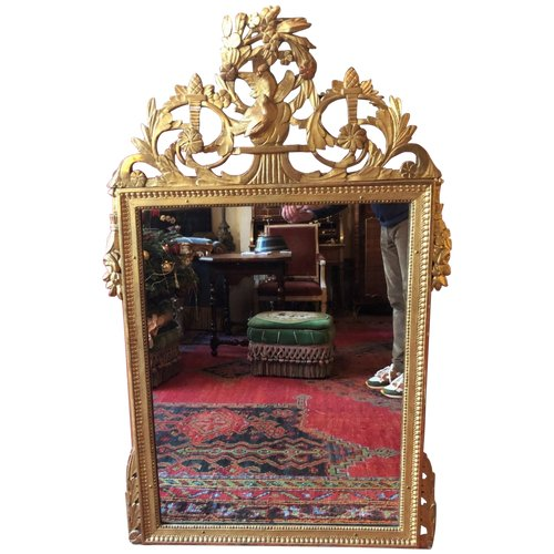 Großer Louis XVI Spiegel