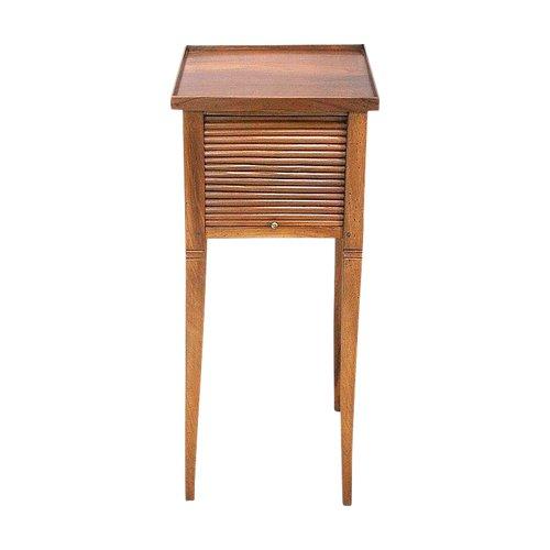 Small Curtain Table, Solid Walnut - Nineteenth