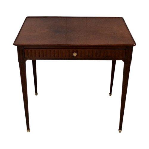 Kleiner kubanischer Mahagoni-Kabarett-Tisch, Louis XVI - XVIII. Jahrhundert
