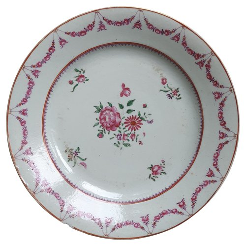 18th century Chinese porcelain plate