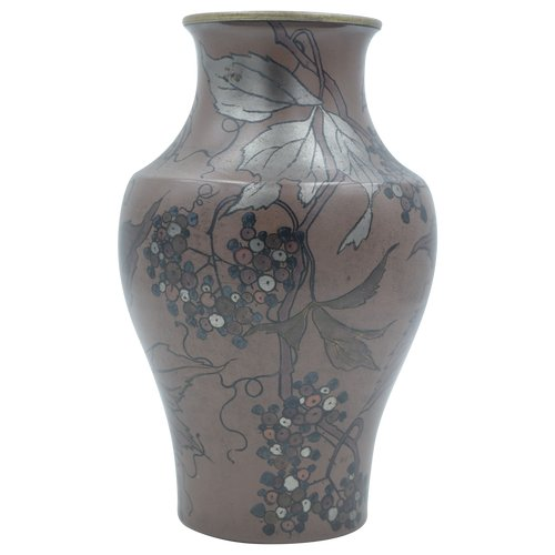 Boch Frères la Louvière – Vase balustre Art Nouveau – Céramique - Belgique, vers 1900.
