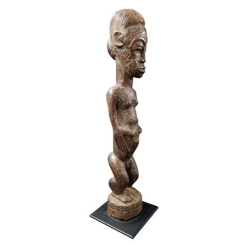 Baoulé Male Figure - Ivory Coast - Mid 20th Century