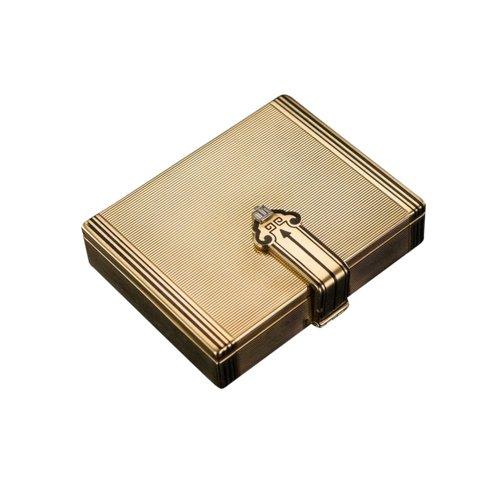 Tiffany Art Deco 14k Gold Box