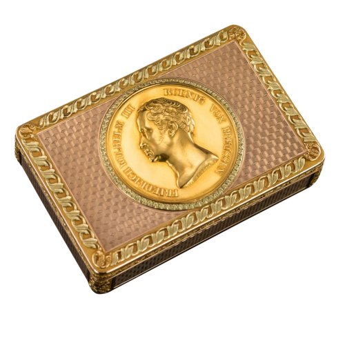 A 19th century German snuffbox