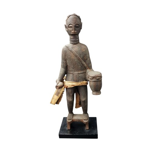 Statue of a Griot, Akan, Ghana