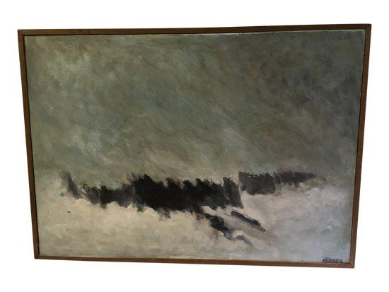 """""""Vagues"""",peint par MAYER"""